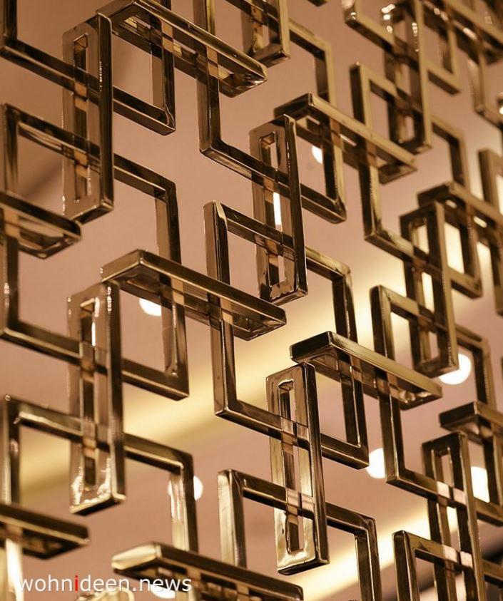 goldene Raumteiller Paravent - Die 124 schönsten Design Sichtschutz Raumteiler Ideen der Welt