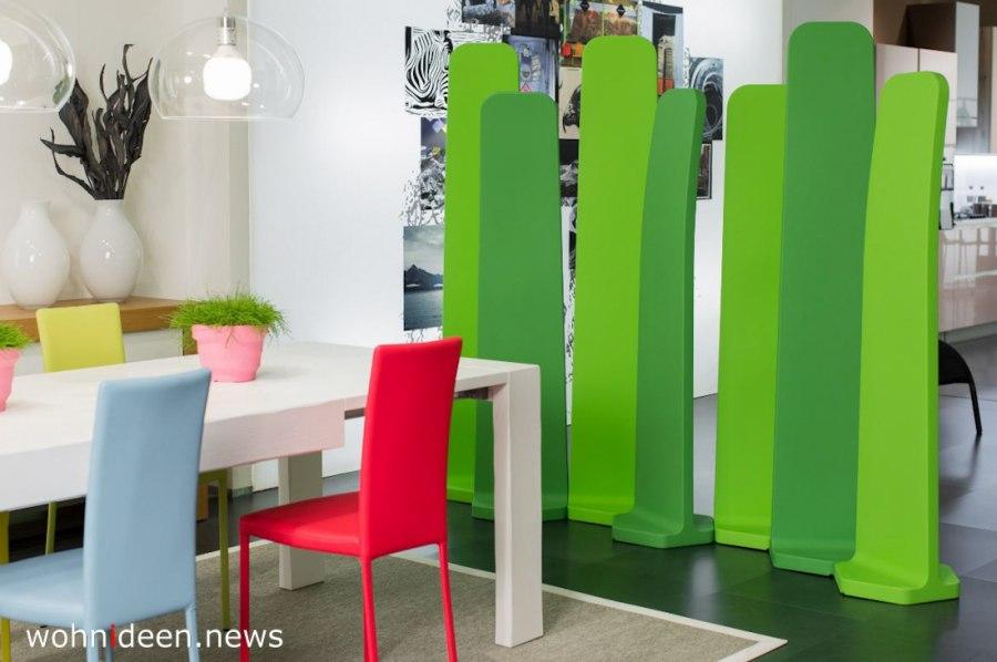 grüne Raumteiler klein und mobil - Die 124 schönsten Design Sichtschutz Raumteiler Ideen der Welt