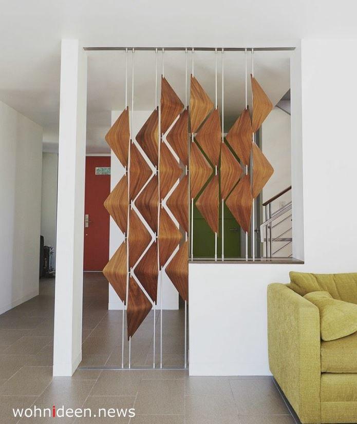 Holz Raumteiler für Wohnzimmer, Büro, Schlafzimmer