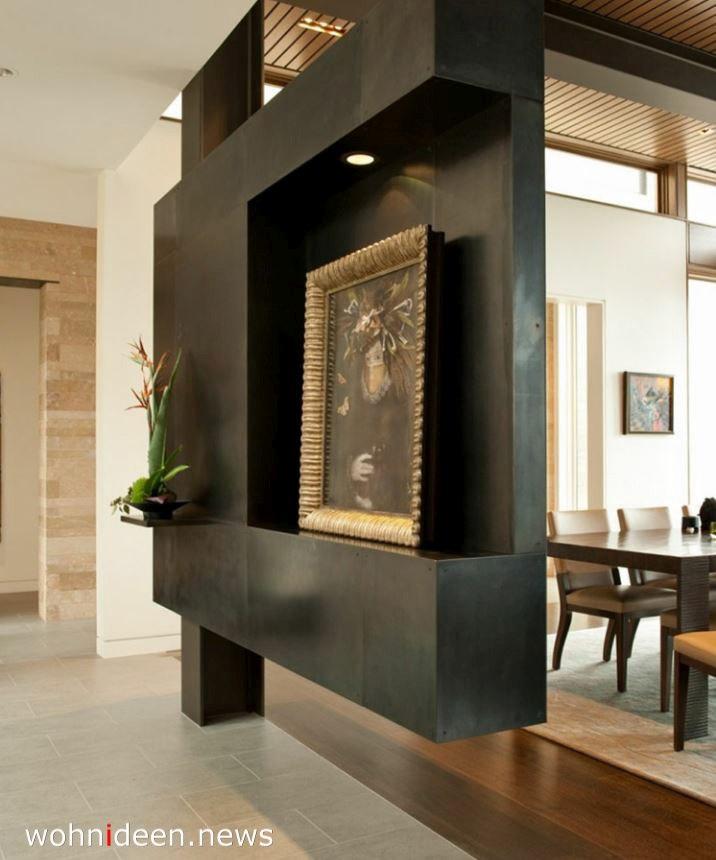 massiver sichtschutz für Esszimmer und Wohnzimmer modern - Die 124 schönsten Design Sichtschutz Raumteiler Ideen der Welt