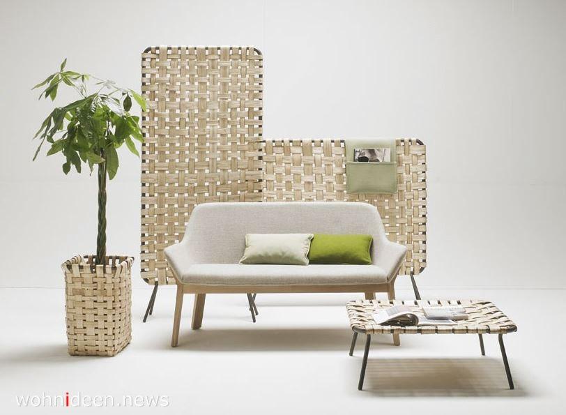 niedrige mobile raumteiler aus naturholz - Die 124 schönsten Design Sichtschutz Raumteiler Ideen der Welt
