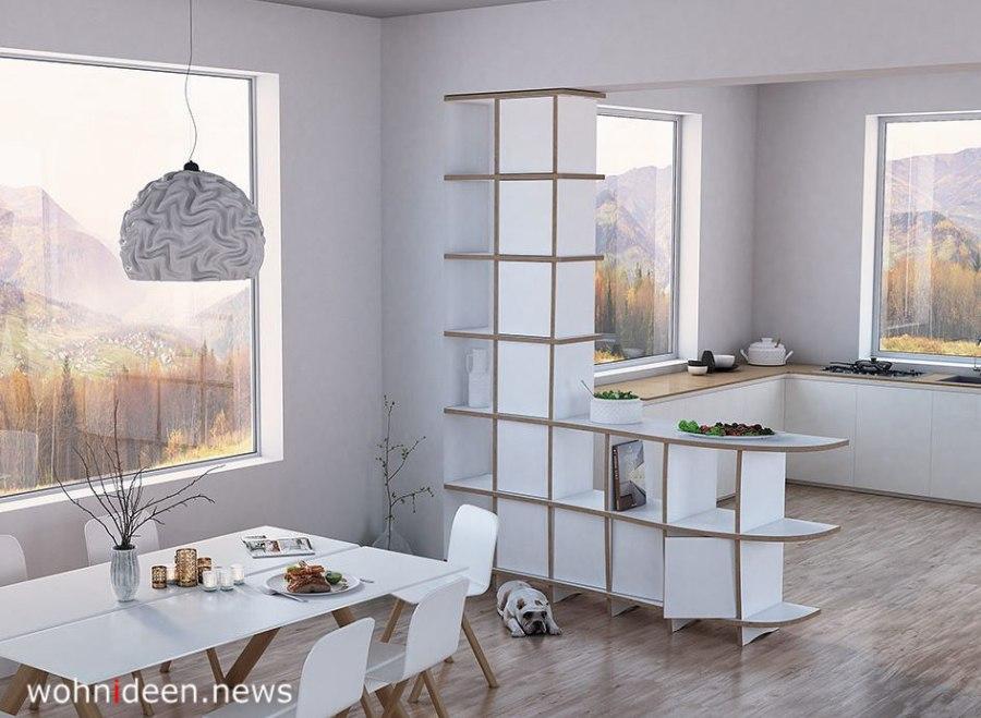 offene raumteiler als Bücherregal - Die 124 schönsten Design Sichtschutz Raumteiler Ideen der Welt
