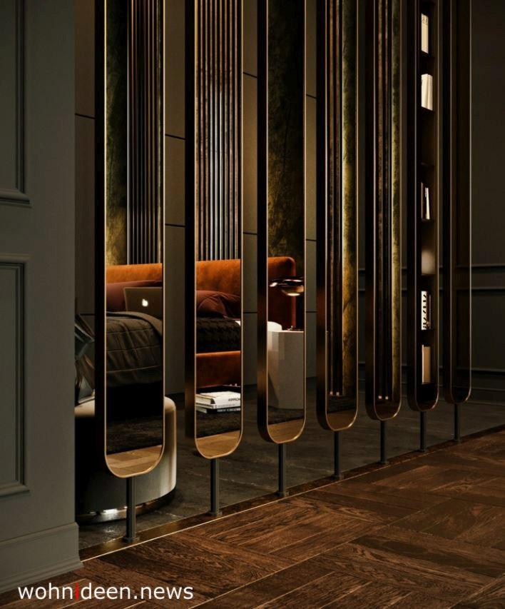 spiegelraumteiler spiegel trennwand - Die 124 schönsten Design Sichtschutz Raumteiler Ideen der Welt