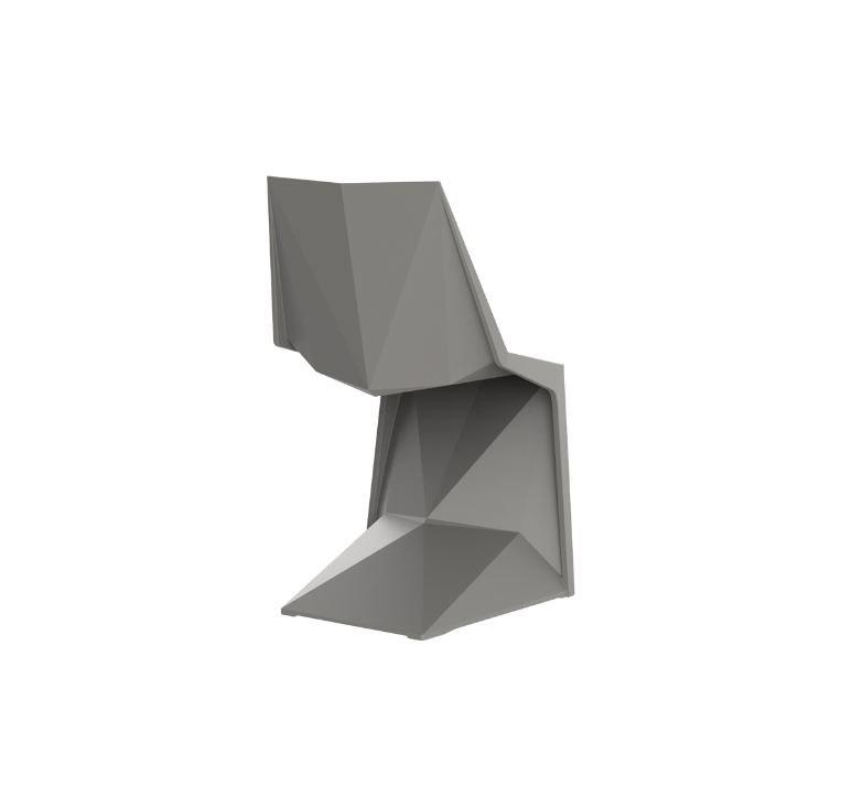 Ausgefallene Terrassen Sessel Vondom Voxel Stuhl GrafNews - Outdoor Design Stuhl Voxeles von Graf News