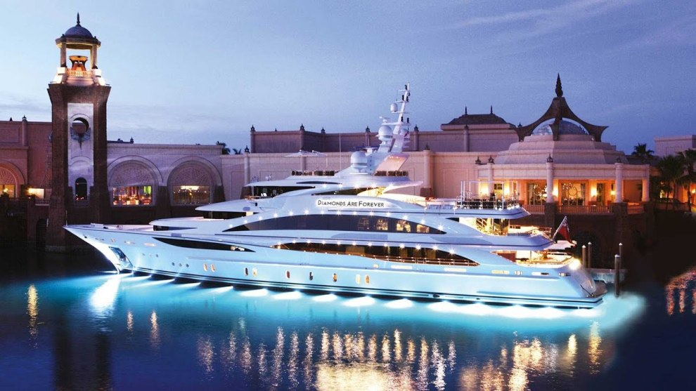 "Diamonds Are Forever Luxury Superyacht - Messe Tipp: ""boot Düsseldorf"" 2019"