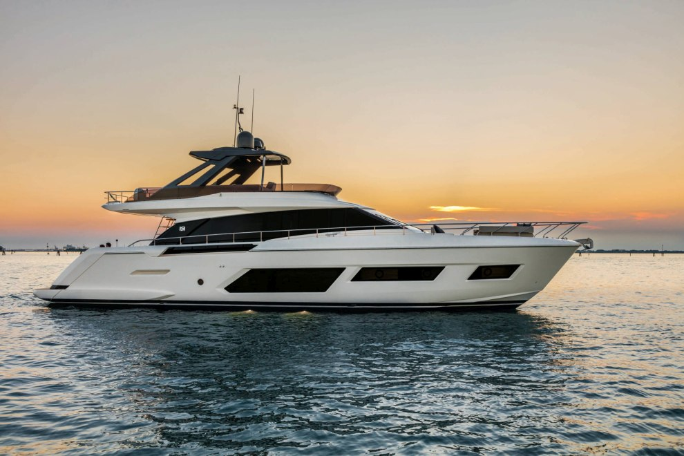 "Ferretti Yachts Luxury Flybridge Yachts For Sale - Messe Tipp: ""boot Düsseldorf"" 2019"