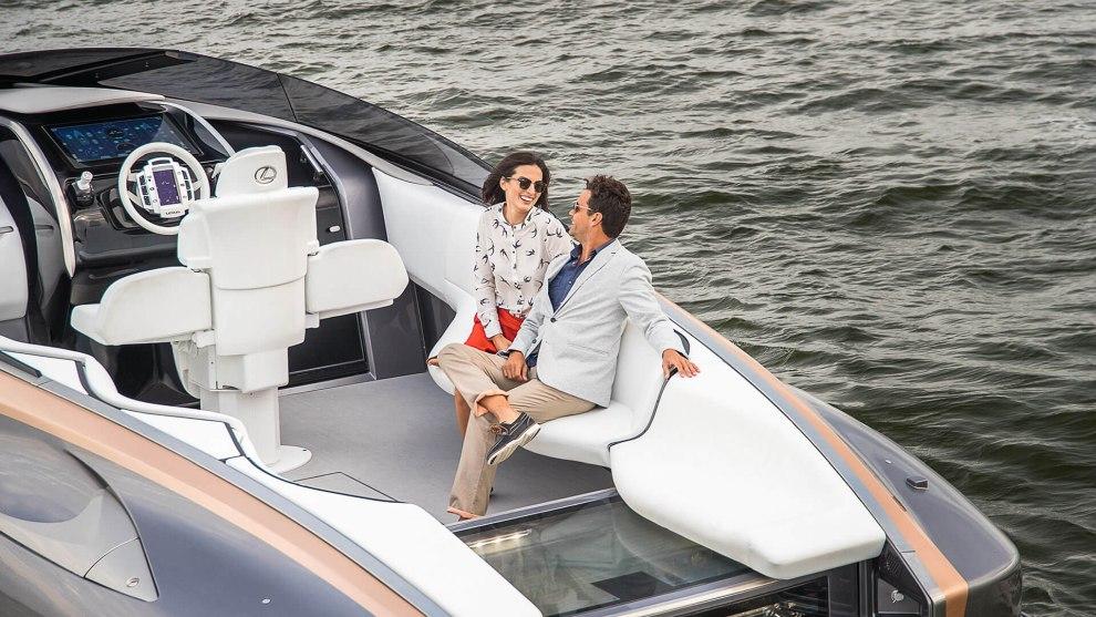 """Lexus Yacht Design Zukunftsvisionen Düsseldorf - Messe Tipp: """"boot Düsseldorf"""" 2019"""