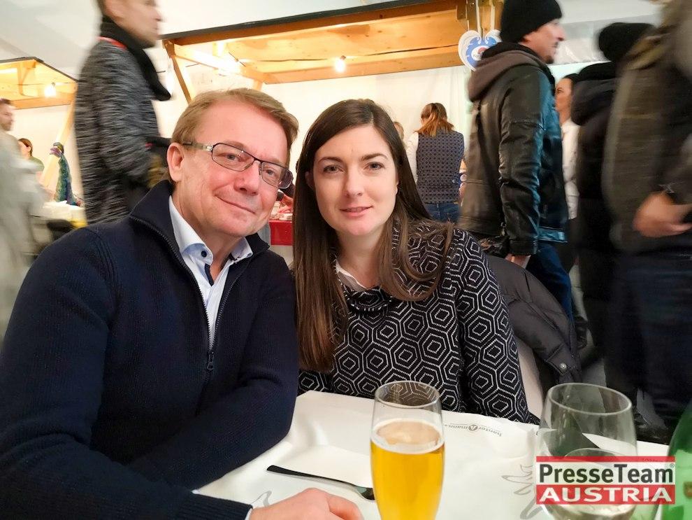 Michael Götzhaber Direktor für Technik mit Frau - Wenn die Musi spielt - Winter Open Air 2019