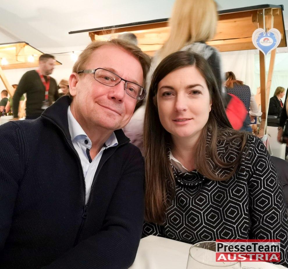 Michael Götzhaber ORF Direktor für Technik mit Frau - Wenn die Musi spielt - Winter Open Air 2019