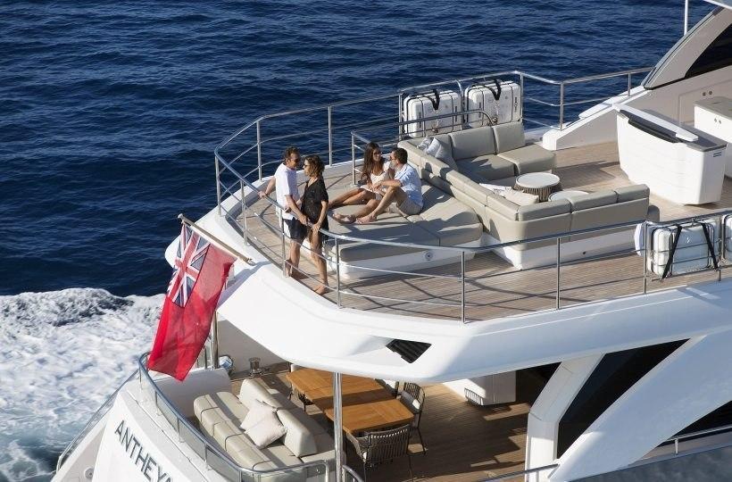 """Princess 35M Princess Motor Yacht Sales - Messe Tipp: """"boot Düsseldorf"""" 2019"""