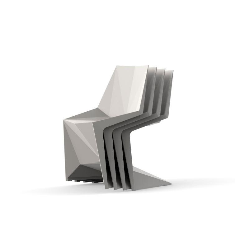 Stappelbare Designersessel Vondom Voxel Stuhl - Outdoor Design Stuhl Voxeles von Graf News