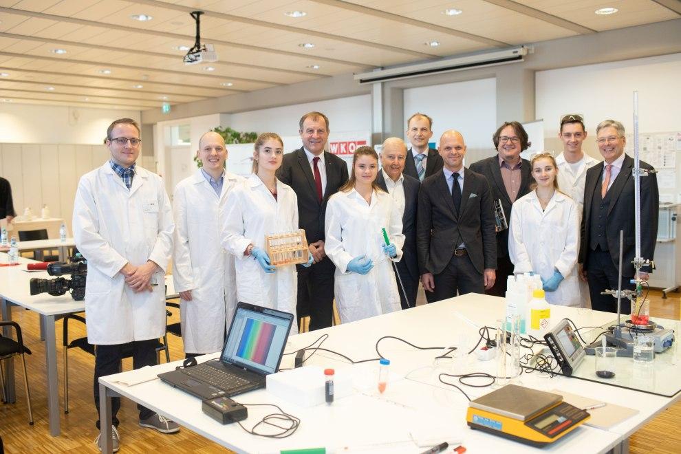 chemie htlIMG 7012 Chemie HTL Klagenfurt - Neue Chemie HTL in Klagenfurt - HTL Mössingerstraße
