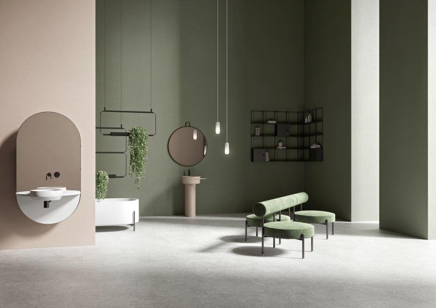 Badezimmer KLOMFAR 01 Ambiente Lancio Prodotto - KLOMFAR präsentiert Trends und Entwicklungen rund ums Badezimmer