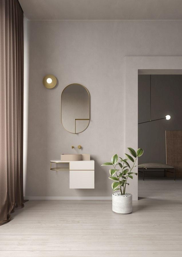 Badezimmer KLOMFAR 02 Ambiente Scandinavo 01 04 specchio - KLOMFAR präsentiert Trends und Entwicklungen rund ums Badezimmer