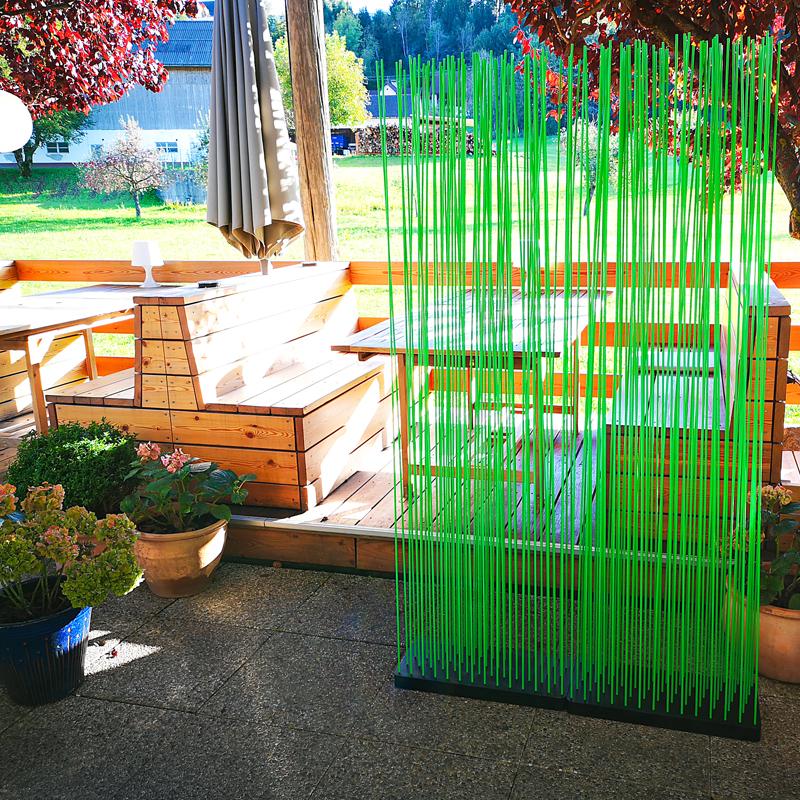Sichtschutz im Garten – Natürlicher Sichtschutz in grün