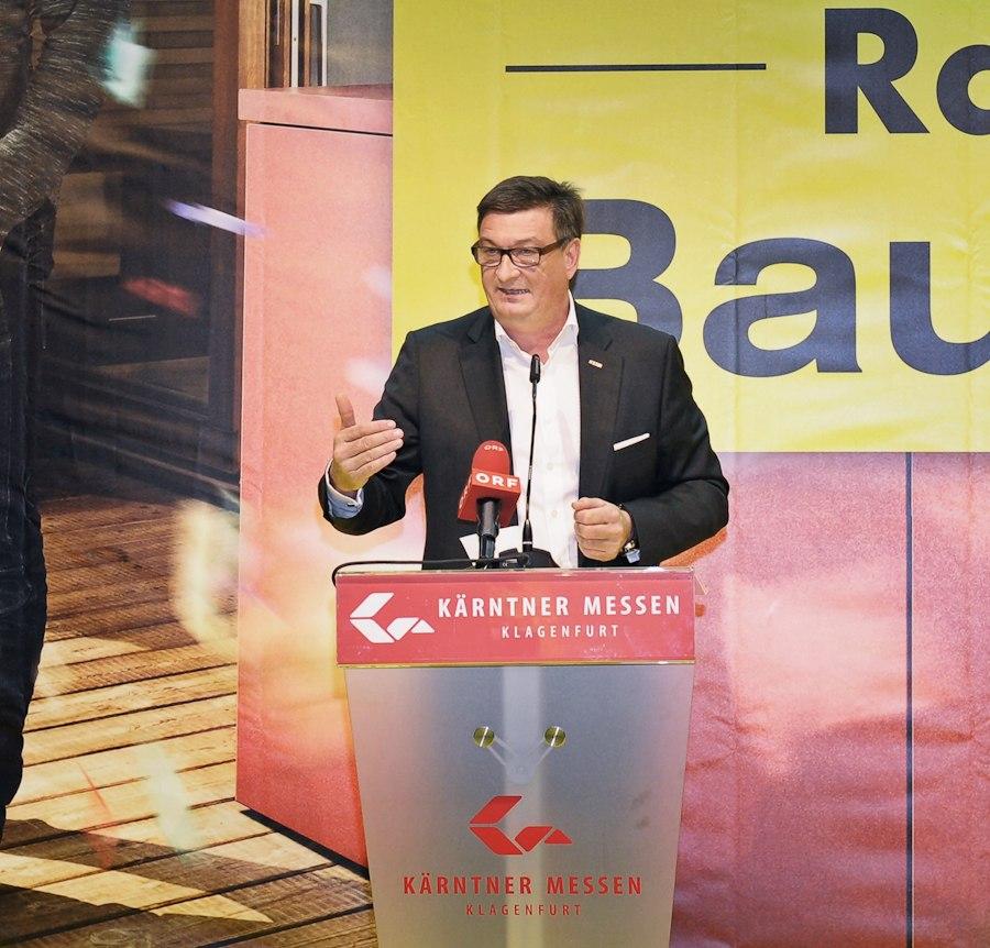 Jürgen Mandl Wohnideen Messe Klagenfurt - Häuslbauermesse Kärnten Abschlussbericht
