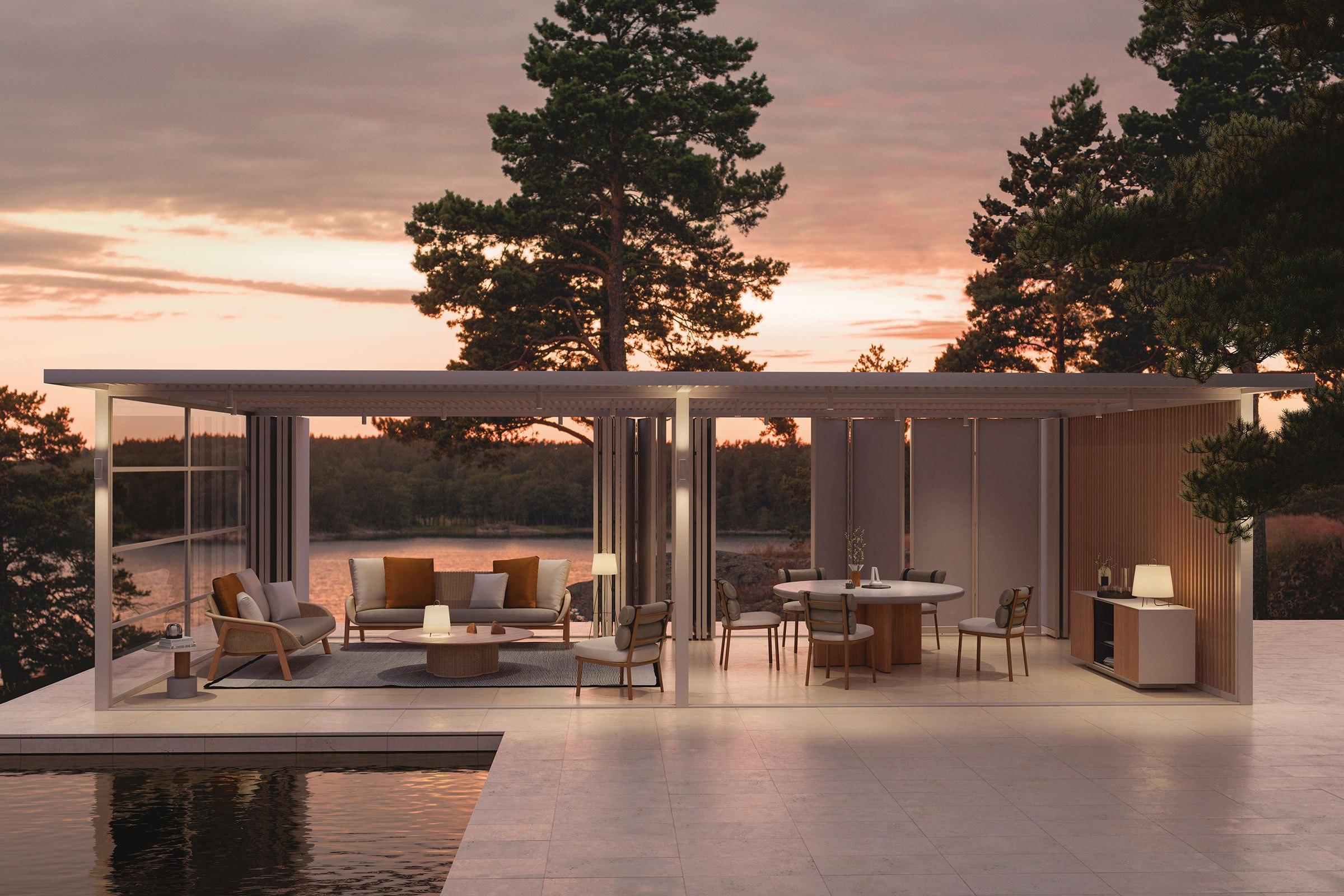 Pavillons 1513 0 0213   86   Pavilion Doble XL Pergola Terrassenmöbel - Top 10 Pergola Pavilon