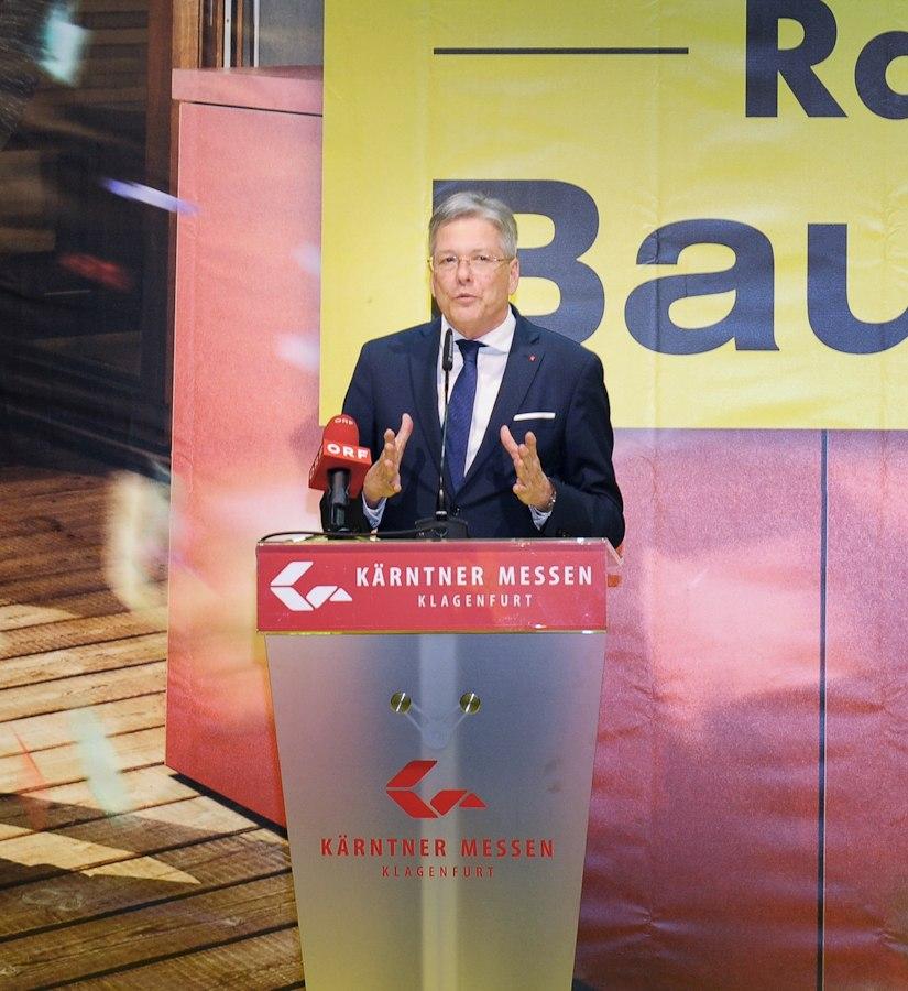 Peter Kaiser Wohnideen Messe Klagenfurt - Häuslbauermesse Kärnten Abschlussbericht
