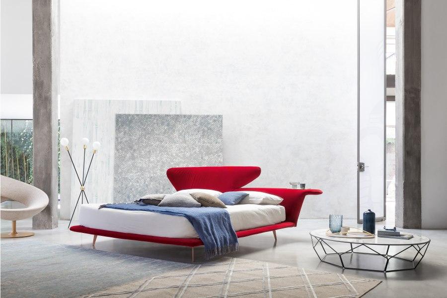 Schlafzimmereinrichtung Bonaldo Lovy bed 1 moderne Betten - Top 10 Bettenkollektion Bonaldo Schlafzimmereinrichtung & Betten