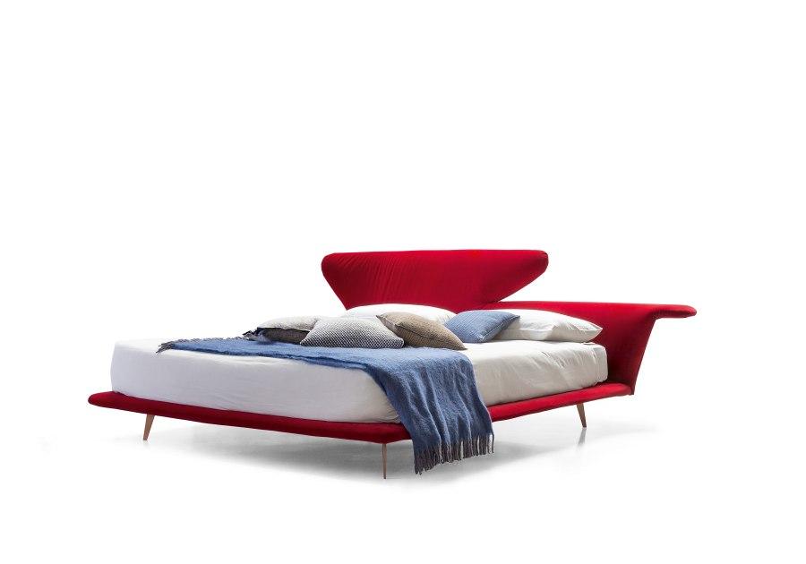 Schlafzimmereinrichtung Bonaldo Lovy bed 2 moderne Betten - Top 10 Bettenkollektion Bonaldo Schlafzimmereinrichtung & Betten