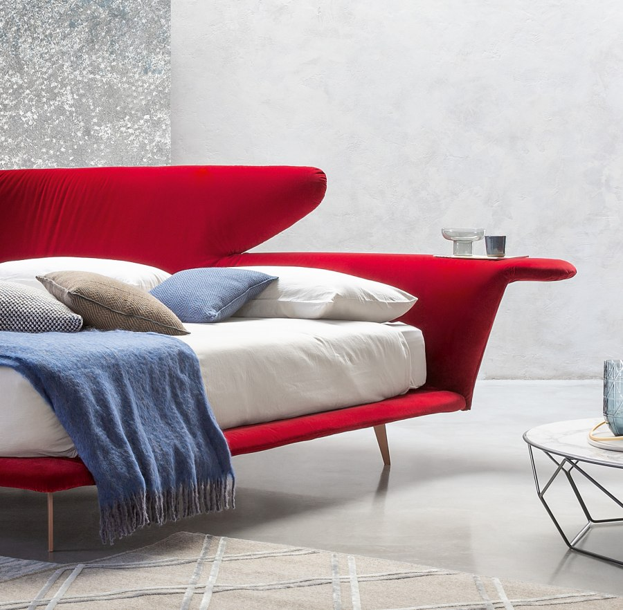 Schlafzimmereinrichtung Bonaldo Lovy bed 3 moderne Betten - Top 10 Bettenkollektion Bonaldo Schlafzimmereinrichtung & Betten