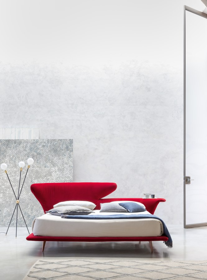 Schlafzimmereinrichtung Bonaldo Lovy bed 4 moderne Betten - Top 10 Bettenkollektion Bonaldo Schlafzimmereinrichtung & Betten