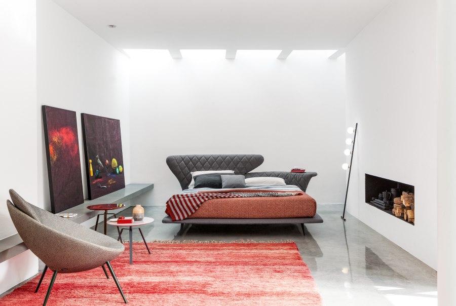 Schlafzimmereinrichtung Bonaldo Lovy bed ego 1 moderne Betten - Top 10 Bettenkollektion Bonaldo Schlafzimmereinrichtung & Betten