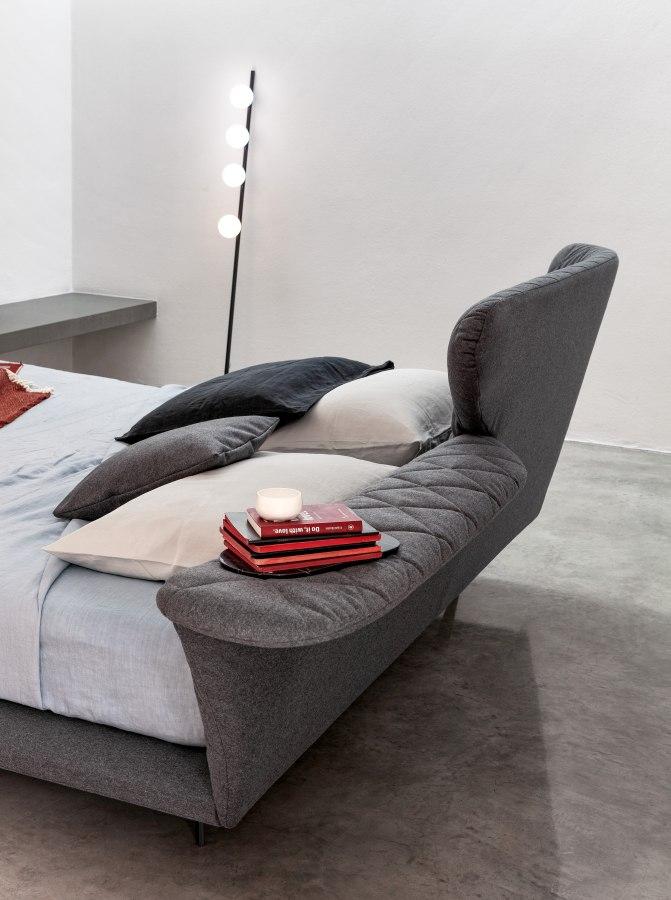 Schlafzimmereinrichtung Bonaldo Lovy bed ego 3 moderne Betten - Top 10 Bettenkollektion Bonaldo Schlafzimmereinrichtung & Betten