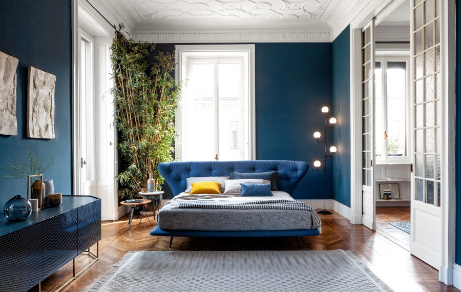 Schlafzimmereinrichtung Bonaldo Lovy bed hi plus 1 moderne Betten - Top 10 Bettenkollektion Bonaldo Schlafzimmereinrichtung & Betten