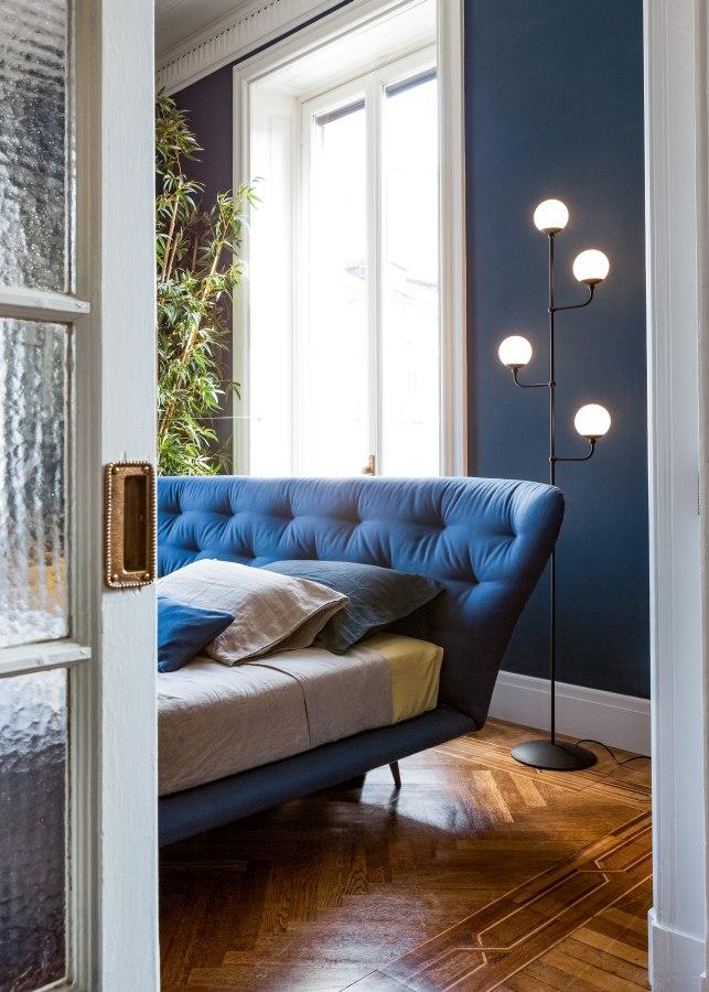 Schlafzimmereinrichtung Bonaldo Lovy bed hi plus 2 moderne Betten - Top 10 Bettenkollektion Bonaldo Schlafzimmereinrichtung & Betten