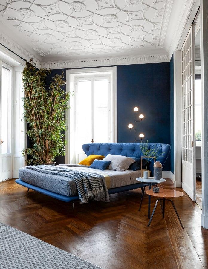 Schlafzimmereinrichtung Bonaldo Lovy bed hi plus 3 moderne Betten - Top 10 Bettenkollektion Bonaldo Schlafzimmereinrichtung & Betten