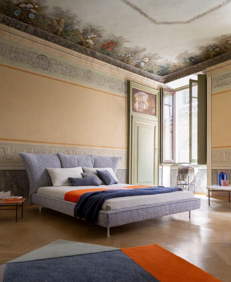 Schlafzimmereinrichtung Bonaldo Madame C bed 1 moderne Betten - Top 10 Bettenkollektion Bonaldo Schlafzimmereinrichtung & Betten