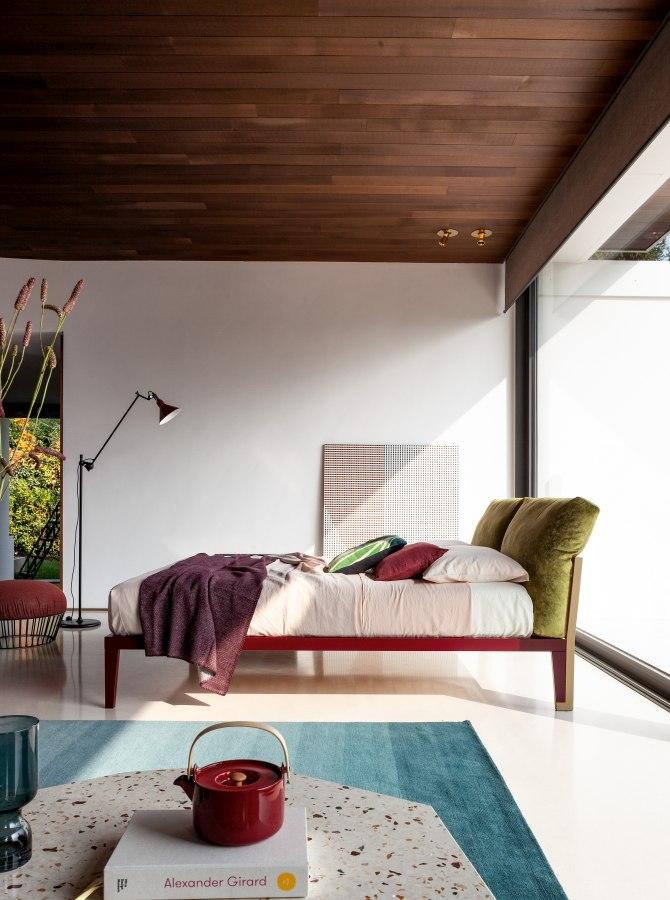 Schlafzimmereinrichtung Bonaldo Moglie e Marito 2 moderne Betten - Top 10 Bettenkollektion Bonaldo Schlafzimmereinrichtung & Betten