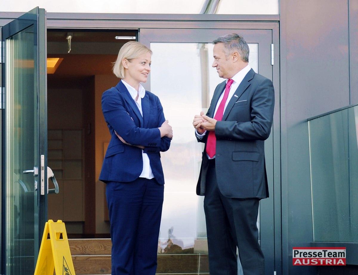 Andrea Gerdl und Robert Graf Skydesign - VIVAMAYR baut neue Klinik in Maria Wörth