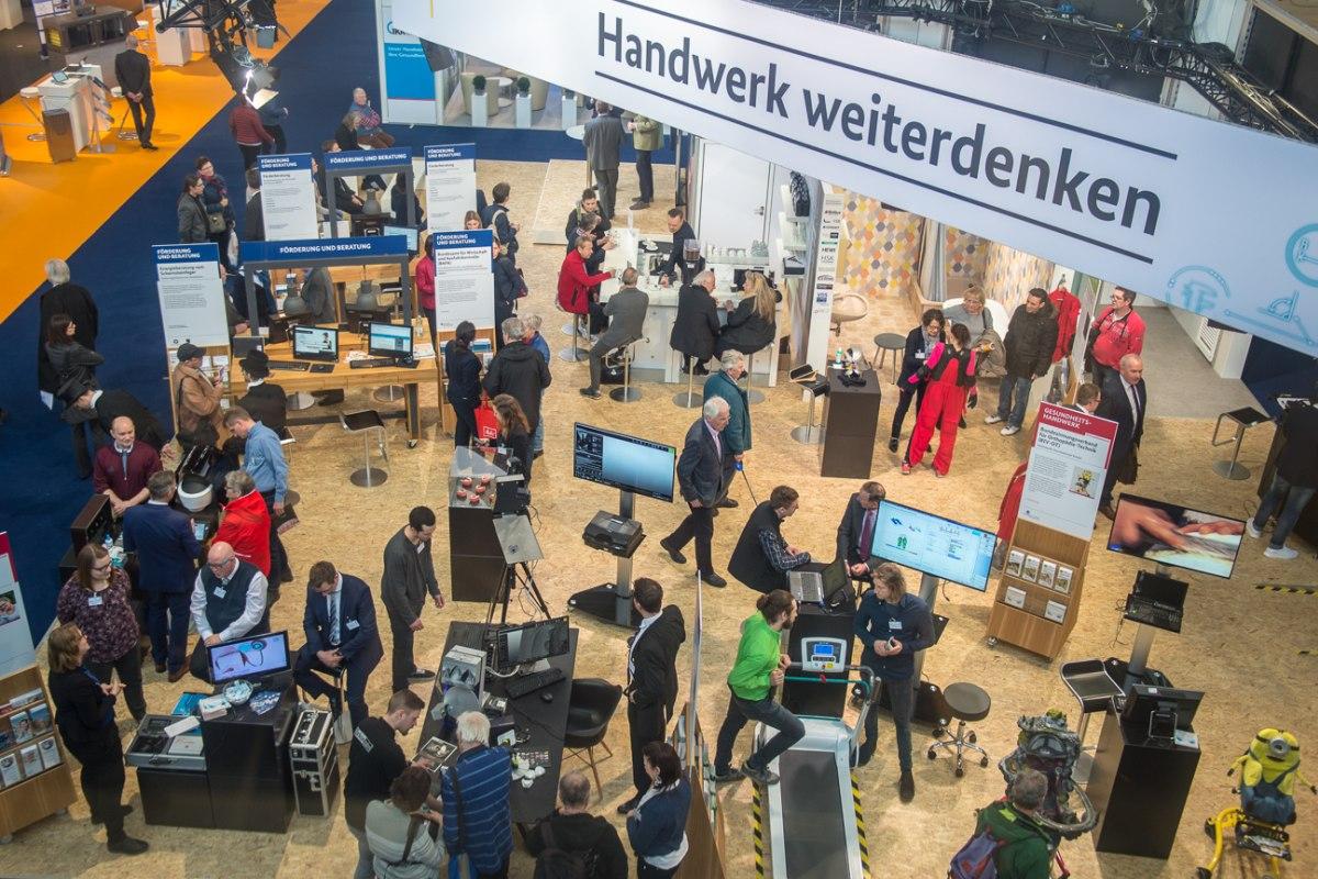 IHM Messe München 32019 - Internationale Handwerksmesse München 2019