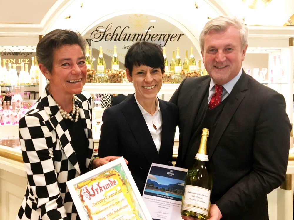 Silke Sztatecsny ist Ambassador of the Year 2019