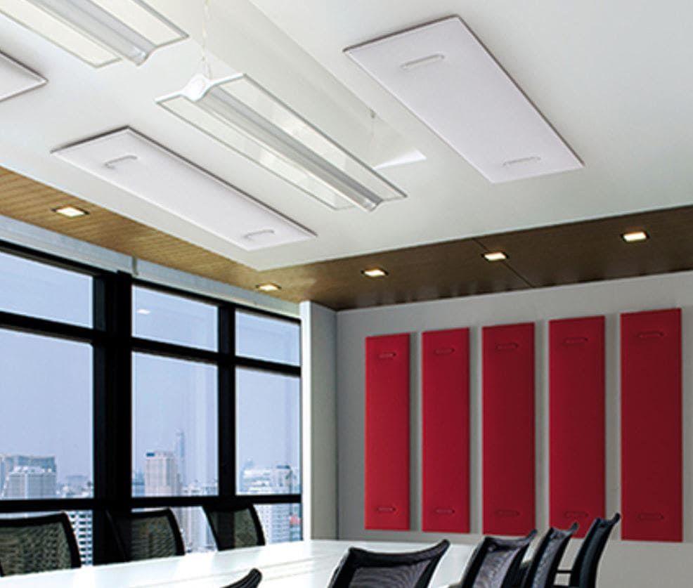 Arbeitsplatz Schallschutzwände - Schalldämmung im Büro - was bringt das?