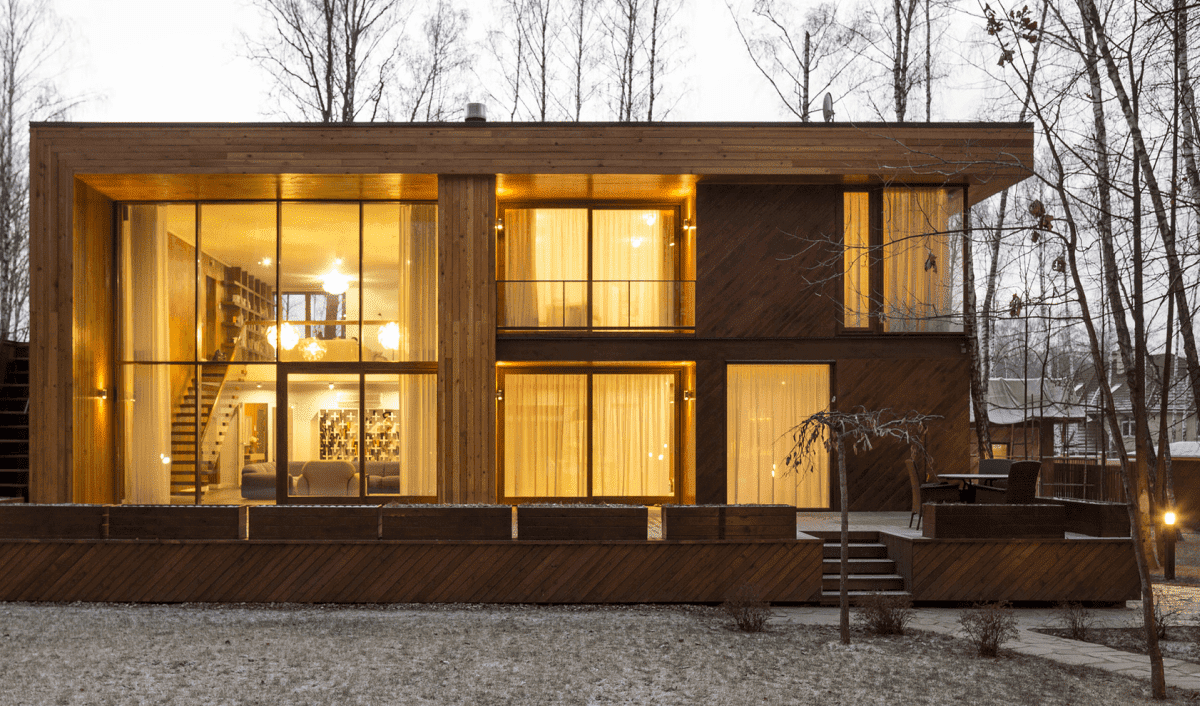 02 ContainerHaus Ideen Holz - Top 10 Wohncontainer | Container Haus | Schiffscontainer Haus