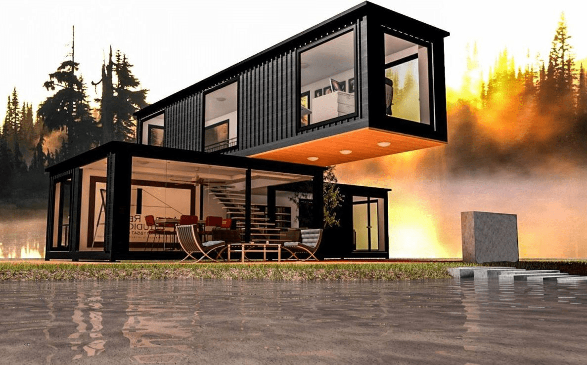 Container Haus Ideen - Top 10 Wohncontainer | Container Haus | Schiffscontainer Haus