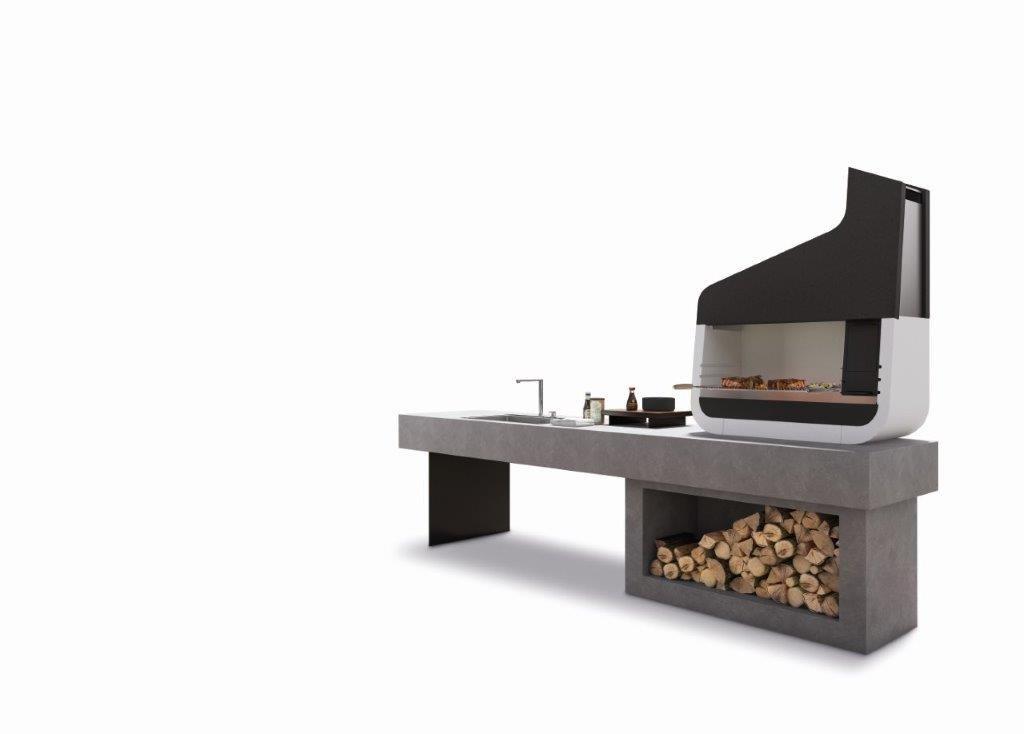 Palazzetti UP 01 1 outdoor grillstation - Der schönste Outdoor Griller für den Garten