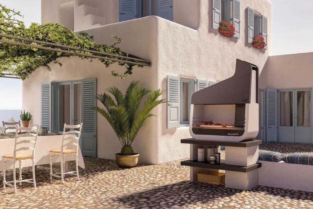 Palazzetti UP 05 outdoor grillstation - Der schönste Outdoor Griller für den Garten