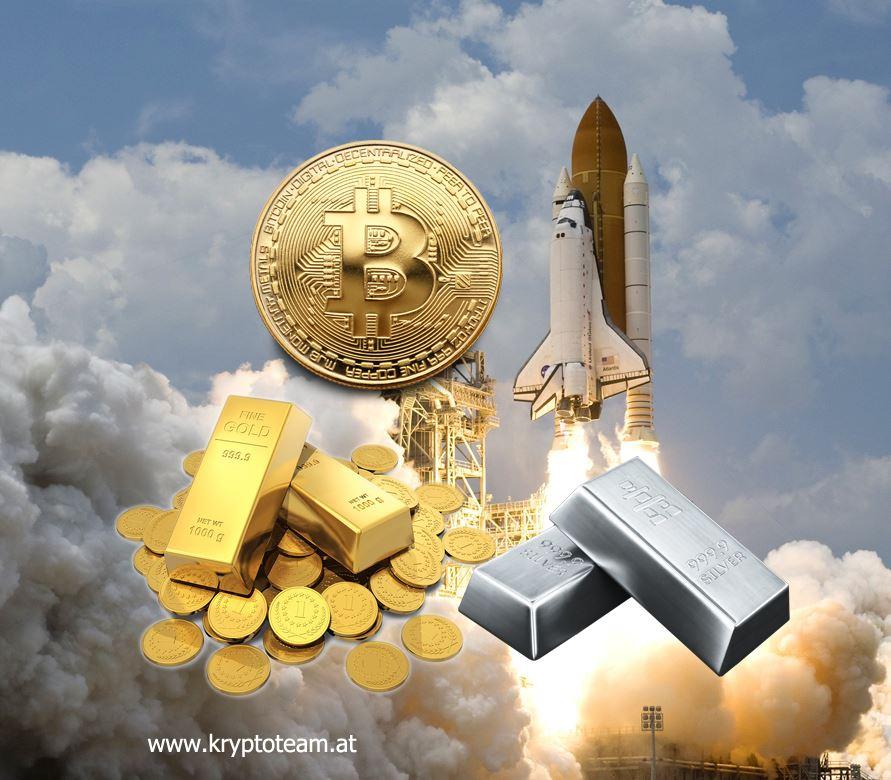 bitcoin kaufen - Gold, Silber, Bitcoin: Das wäre aus 1.000 Euro in 10 Jahren geworden