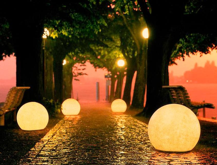 3er set leuchtkugeln garten - Kugelleuchten & Kugellampen für den Garten Gartenkugeln Leuchtkugeln mit LED