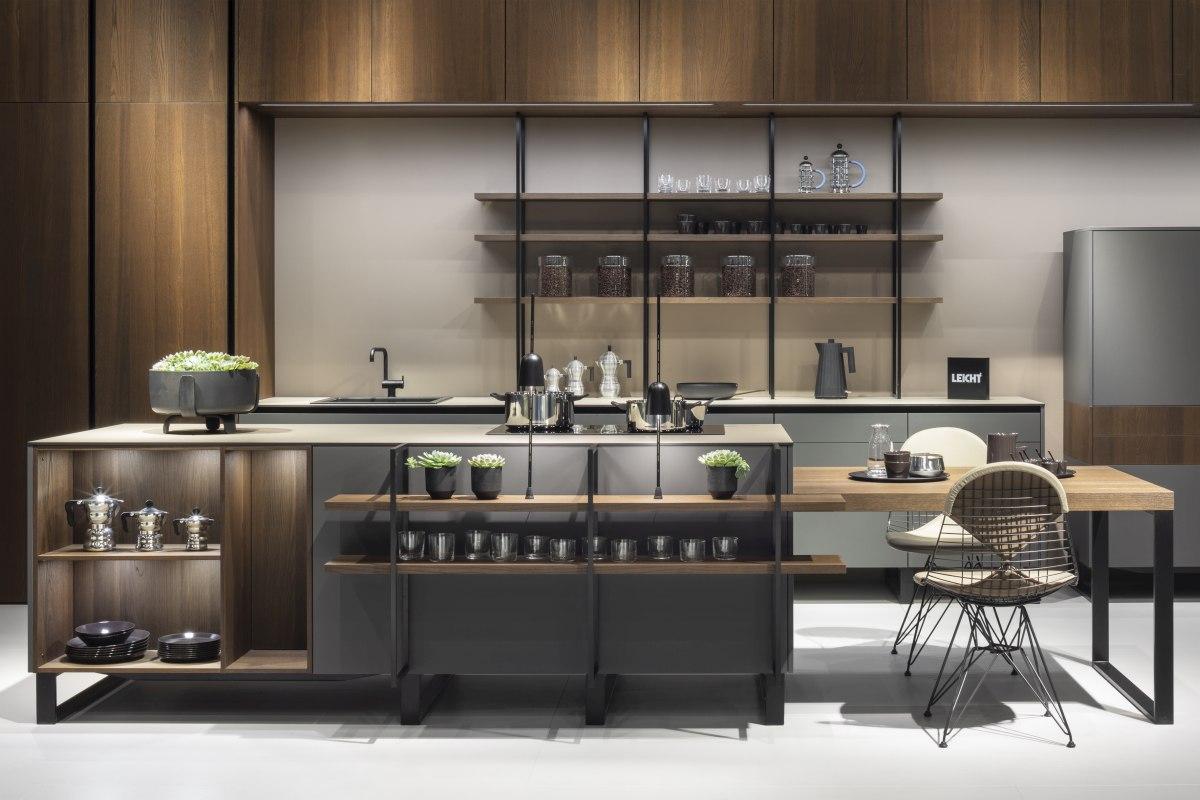 """Barista Koje 02 LEICHT Living Kitchen 2019 Foto Credit LEICHT C. Meyer 01 Kuechenplaner - """"GERMAN DESIGN AWARD 2020"""" für Leicht Küchen"""