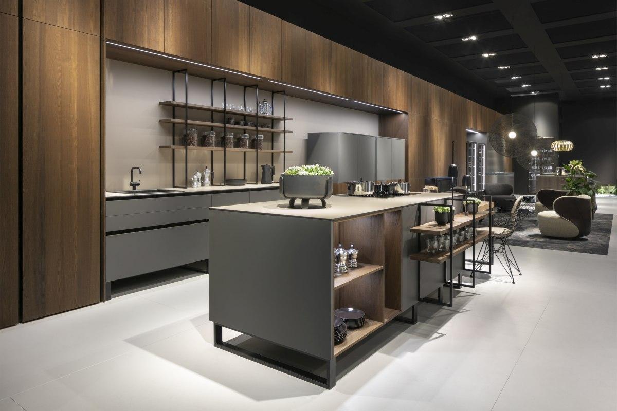 """Barista Koje 02 LEICHT Living Kitchen 2019 Foto Credit LEICHT C. Meyer 02 Kuechenplaner - """"GERMAN DESIGN AWARD 2020"""" für Leicht Küchen"""