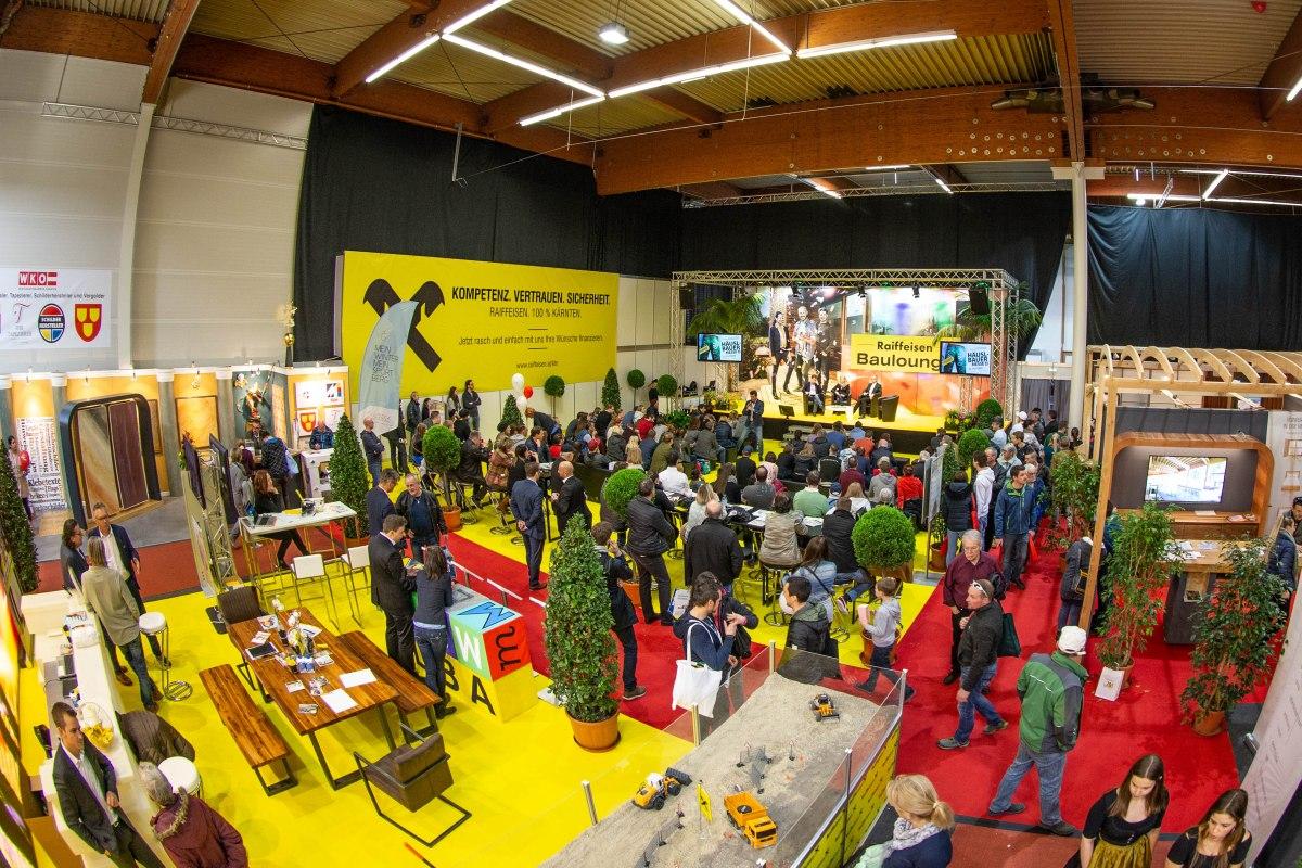 Häuslbauermesse Raiffeisen Baulounge Presseteam Austria - Häuslbauermesse die beliebte Baufachmesse in Kärnten