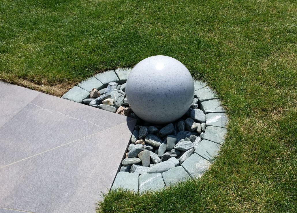 Kugel granitkugel beleuchtet - Kugelleuchten & Kugellampen für den Garten Gartenkugeln Leuchtkugeln mit LED