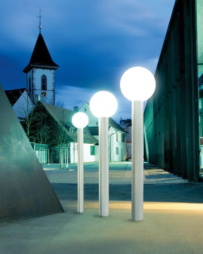 Kugelleuchten Laternen Kugel Weiss - Kugelleuchten & Kugellampen für den Garten Gartenkugeln Leuchtkugeln mit LED
