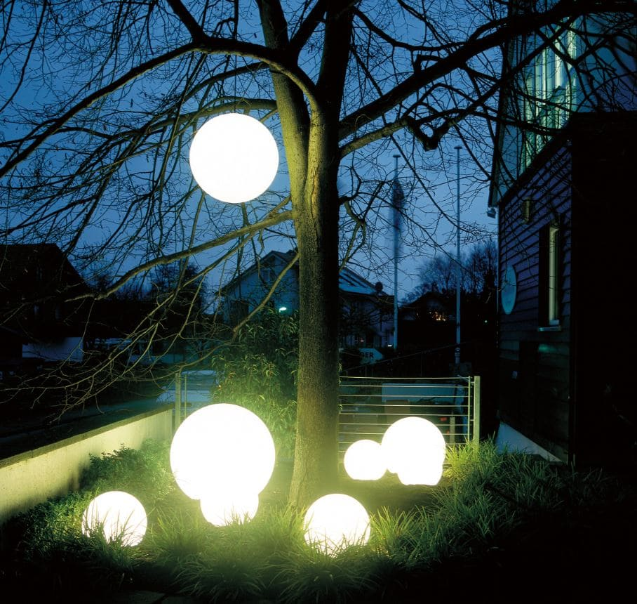Leuchtkugel Baum Baumbeleuchtung Kugelform - Kugelleuchten & Kugellampen für den Garten Gartenkugeln Leuchtkugeln mit LED