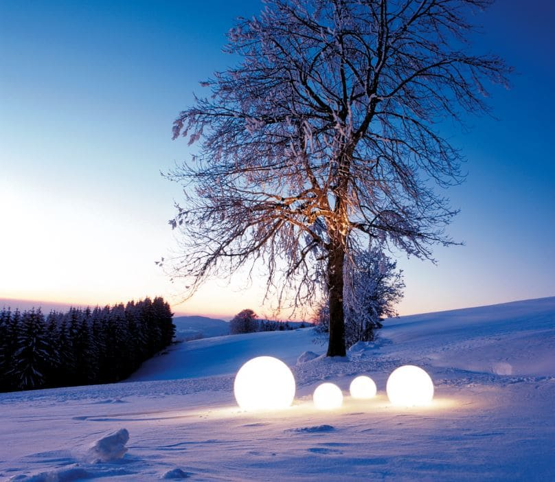 Leuchtkugeln Garten Outdoor - Kugelleuchten & Kugellampen für den Garten Gartenkugeln Leuchtkugeln mit LED